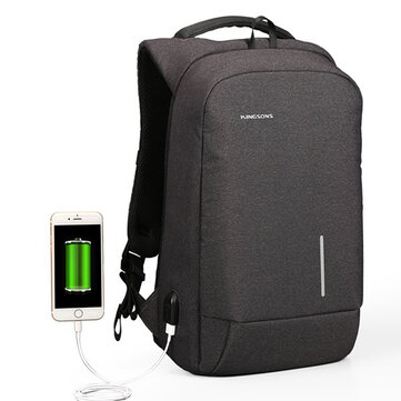 13/15 Inch Laptop Backpack Waterproof Anti Theft Backpack with External USB Port