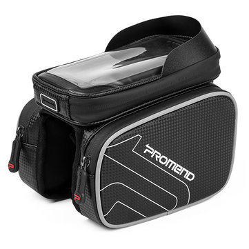 PROMEND SGB-14E38 6.2 inch Waterproof Touch Screen MTB Bicycle Bag Reflective Frame Top Tube Phone Bag