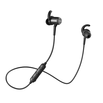QCY M1C Wireless Bluetooth Earphone Magnet Adsorption Noise Cancelling IPX4 Waterproof Headphone