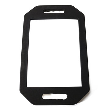 Shockproof Black Sponge Wall Mirror Hairdresser Salon Back Vision Rearview Large Square Mirror