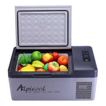 15L 12/24V Portable Freezer Camping Car Boating Caravan Bar Mini Refrigerator Fridges by APP