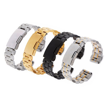 22mm Stainless Steel Wrist Watch Band Strap Bracelet For Pebble Time Smart Watch