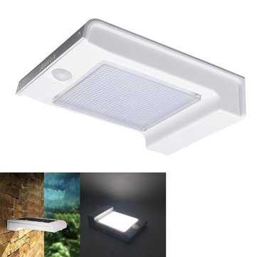 ARILUX® Solar Powered 72 LED PIR Motion Sensor Wall Light 3 Modes Waterproof Outdoor Yard Garden