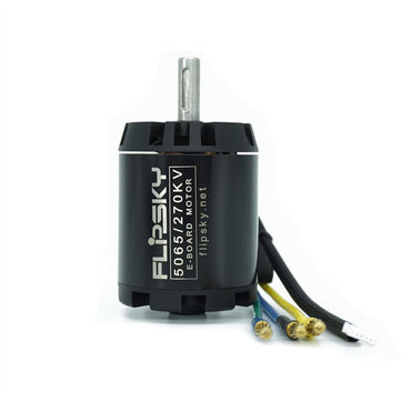 HGLRC-Flipsky 5065 270KV 1550W Brushless Sensored Motor Shaft 8mm for Electric Skateboard Rc Model