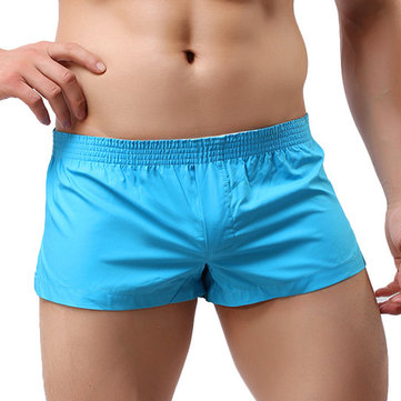 Arrow Pants Casual Sexy Home Low Waist Outerwear Inside Pouch Breathable Boxers Underpants for Men