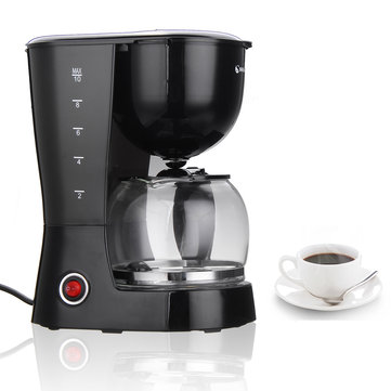 1.25L 800W Electric Coffee Tea Maker Espresso Latte Machine Home Office Cafe Coffee Machine