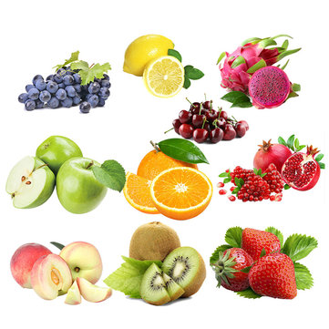 Egrow 10 Varieties Mixed Fruit Seeds Organic Fruit Tree Seeds Sweet Candied Fruit Non-gmo Plant Seed