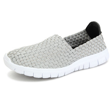Women Sport Sneakers Breathable Walking Shoes Knit Athletic Shoes