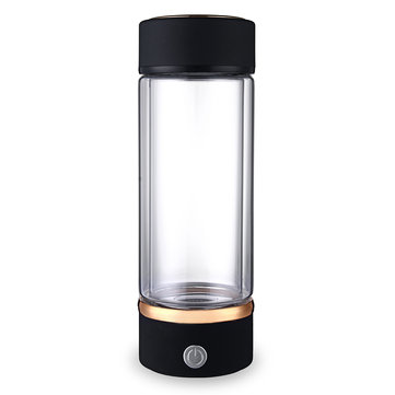 420ml Portable USB Hydrogen-Rich Water Ionizer Maker Generator Energy Bottle Cup Water Bottle