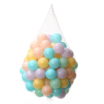 100PCS 6.5cm 8Color Colorful Soft PE Water Pool Ocean Ball Baby Kid Swimming Novelties Toys
