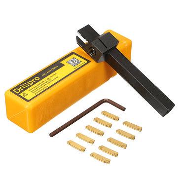 MGEHR 1010-2 10x10 x100mm Groovende gereedschaphouder met 10 stks MGMN200 insert blade voor 2mm cut