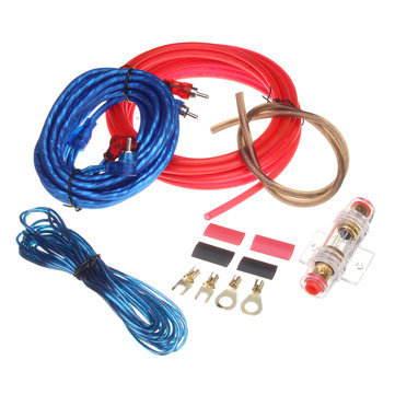 Miraculous Car Audio Subwoofer Sub Amplifier Amp Rca Wiring Kit Power Audio Wiring Digital Resources Dimetprontobusorg