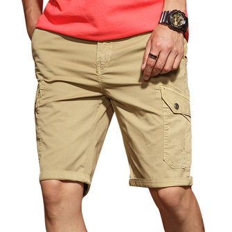 Men's Casual Comfort Cotton Slim Shorts Pants