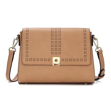 Kadell holle Classic stijl flip messenger bag crossbody tas voor vrouwen