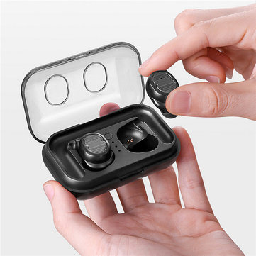 [bluetooth 5.0] TWS Touch Control True Wireless Earphone HIFI Stereo IPX5 Waterproof Earbuds Headset