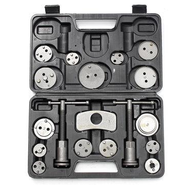 19Pcs Brake Caliper Piston Rewind Back Tools Kit Brake Disc Remover Car Service