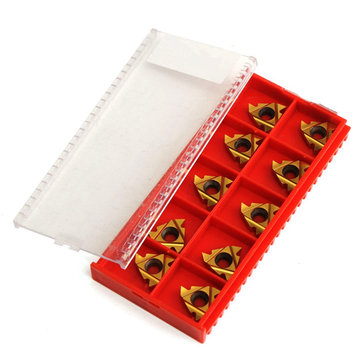 Buy 10pcs 16ER AG60 Carbide Threading Inserts Turning Tool for $16.32 in Banggood store