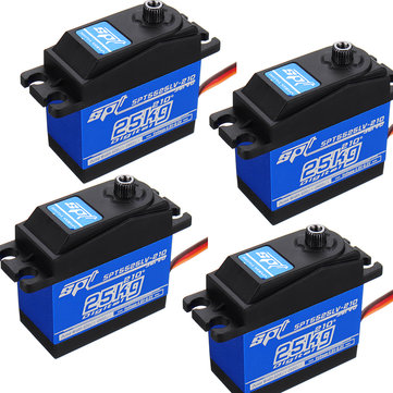 4PCS SPT5525LV-210 25KG Digital Servo 210° Large Torque Metal Gear For RC Robot
