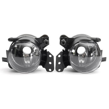 2pcs LED Car Front Fog Lights Shell Daytime Running Lamp Frame for BMW E60 E90 E63 E4