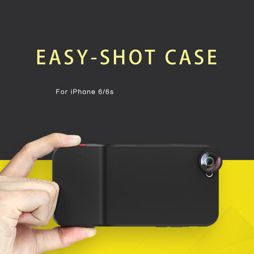 Rock Easy-shot Series Protective Case(Macro + Fisheye + Wide Angle + timer) For iPhone 6 6s