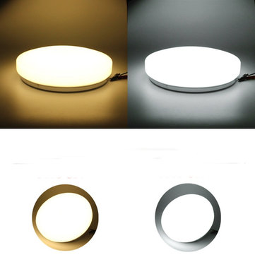 Modern 20W LED Round Ceiling Panel Light Down Lamp Kitchen Bathroom