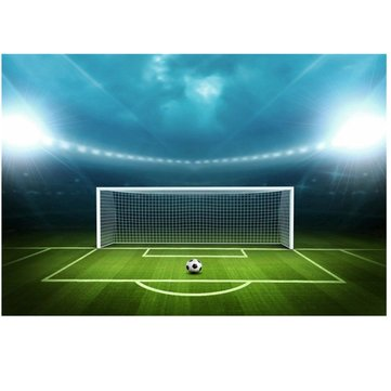 Football Field Soccer Field Theme Photography Vinyl Backdrop Studio Background 2.1m x 1.5m