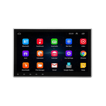 10.1 Inch 1Din Autoradio Stereo MP5 Speler GPS Navigatie bluetooth Android 8.0 intrekbaar touchscreen