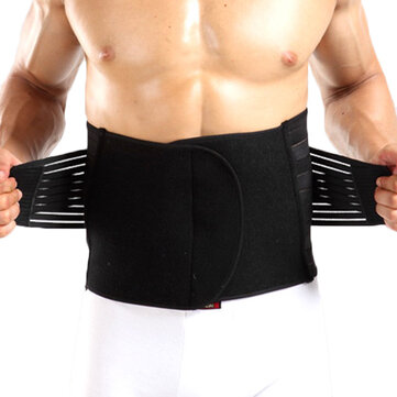 Sport Bodybuilding Breathable High Elastic Abdomen Girdling Belly Waistband for Men