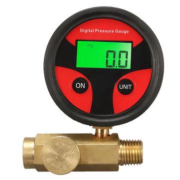 1/4 pouce 200PSI Régulateur de pression d'air Valve de régulation de pression de mesure pour pistolet à pulvériser