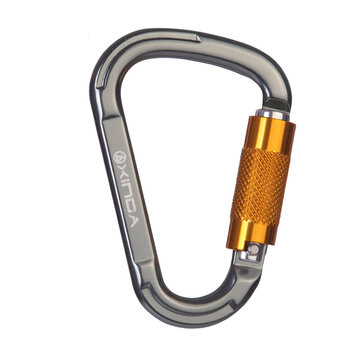 Xinda Outdoor Safety Buckle Carabiner Automatic Lock For Mountaineering Rock Climbing Alloy Ring