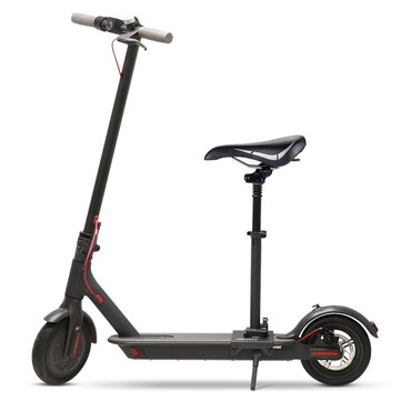 ALFAS Digital Display Foldable Electric Scooter With Saddle(App Verison)