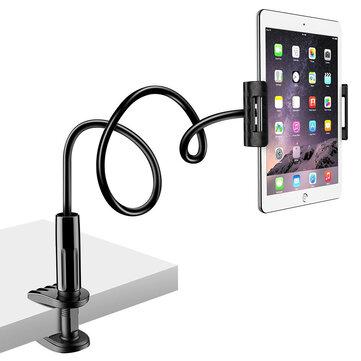Raxfly 80cm Adjustable Arm 360 Degree Rotation Lazy Holder Desktop Stand for Mobile Phone Tablet