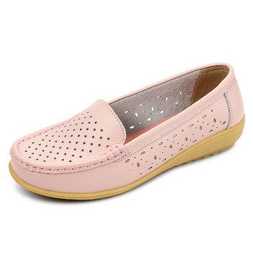 Женщин вскользь выдалбливают мягкие удобные летом скольжения на открытом воздухе квартир бездельник обувь