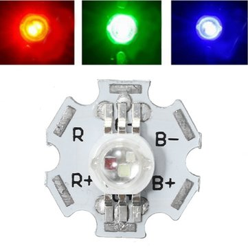 3W RGB Color 6pin High Power LED Light Chip for Lighting