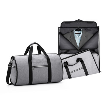 Multifunctional Travel Bag Folding Shoulder Handbag Camping Waterproof Tote Bag Suit Storage Bag