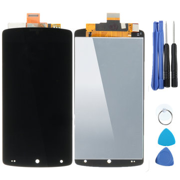 Touch Screen Digitizer Glass LCD Display Assembly+Tools Replacement For LG Google Nexus 5 D820 D821