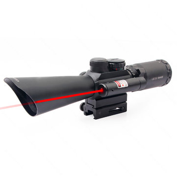 KALOAD M8 3.5-10X40 Tactical Hunting Telescope Cross Red Dot Sight Fast Optical Riflescope 11mm 20mm