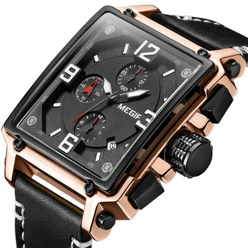 MEGIR 2061 Unique Style Chronograph Men Wrist Watch