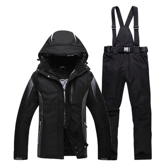 Thick Waterproof Windproof Utility Outdoor Sport Skiing Suit