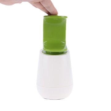 Creative C Shape Liquid Soap Dispenser Refillable Hand Washing Liquid Bottle Bath Liquid Dispenser