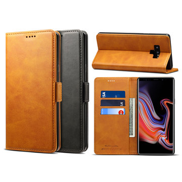 Bakeey Magnetic Flip Wallet Card Slot Kicktand Protective Case For Samsung Galaxy Note 9