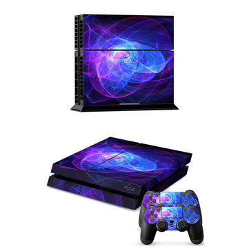 Design Skin Sticker Autocollant + 2 Controller Coque Decal Pour PS4 Play Station