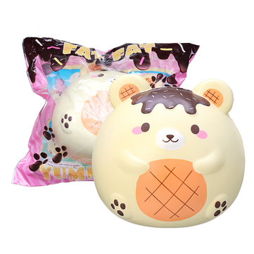 Yummiibear Fat Fat Bear Squishy Humongous Giant 9.84in 25CM Licensed Slow Rising With Packaging Jumbo Toy