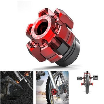 Motorcycle Bike Front Wheel Axle Screw Decorective Front Fork Front Shock Absorber Cup28mm/1.1in