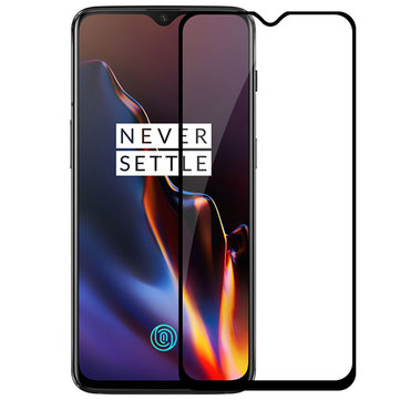 Bakeey™ 5D Curved Anti-explosion Anti-scratch Tempered Glass Screen Protector for OnePlus 6T/OnePlus 7