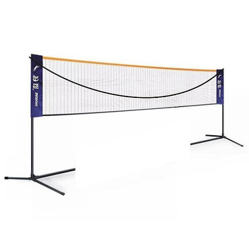 Foldable 6M Badminton Net Outdoor Sport Volleyball Tennis Nets With Frame Stand Adjustable Width Height