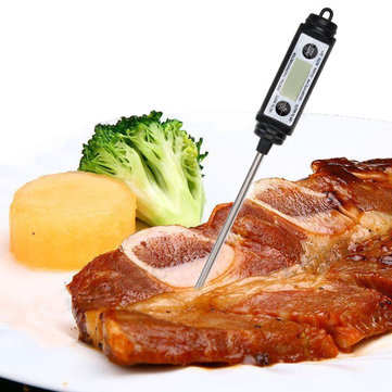 Digital Pen Style Probe Thermometer Food Cooking BBQ Grill Long Probe Thermometer