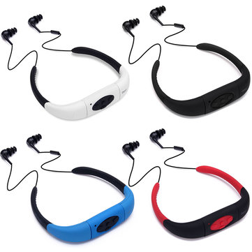Waterproof Swimming Sport IPX8 bluetooth Wireless Earphone