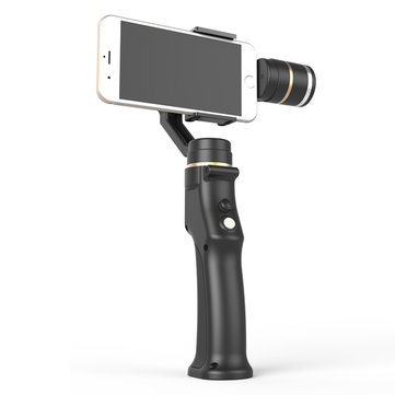 3 Axis Gimbal Action Camera Handheld Stabilizer With Clip Holder for Gopro Camera Cell Phone