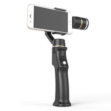 3 Ось Gimbal Действие камера Ручной стабилизатор с держателем для клипа Gopro камера Сотовый телефон